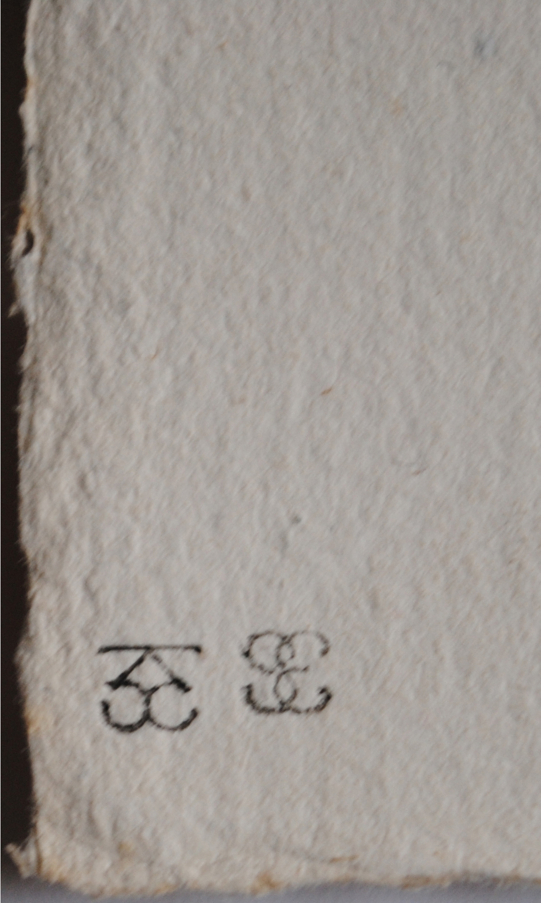 Frapier wetstamps for (third state) trial proof