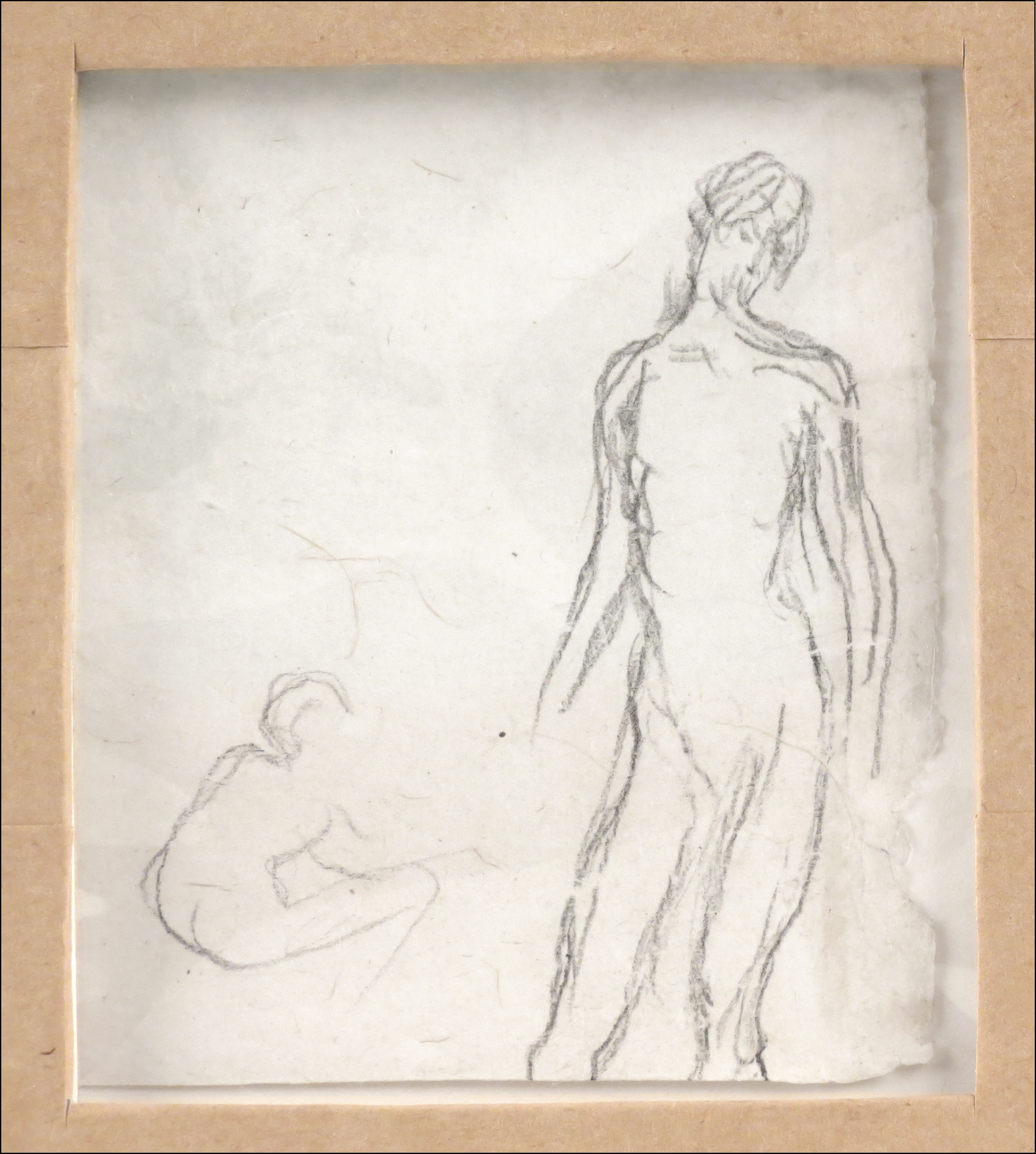 Bonnard sketch (reverse), Le Verger