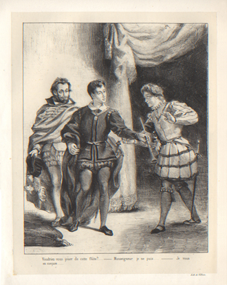 Hamlet and Guildenstern Plate 5