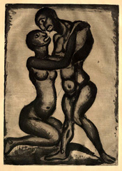 Georges Rouault, Nuptials, etching